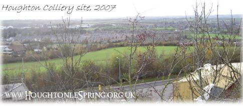 A view of the Colliery site in 2007