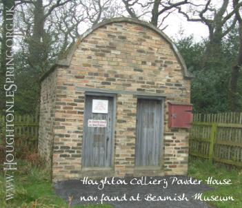 Houghton Colliery's Powder House, now at Beamish Museum