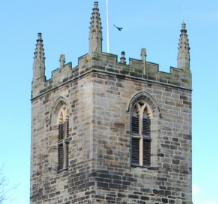 The Church tower now - Click to Enlarge