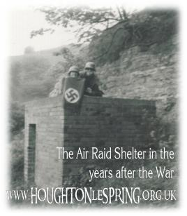 The last WWII Air Raid Shelter in Houghton-le-Spring?