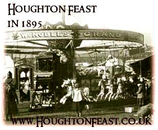 Houghton Feast in 1895