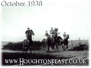 The last horse racing at Houghton-le-Spring: Houghton Feast 1938