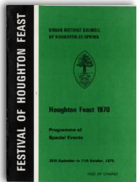 Houghton Feast 1970 programme - Can you provide a copy?