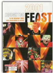 2001 programme cover