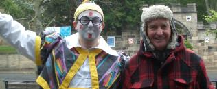 People & Characters from Houghton-le-Spring: Billy Purvis the Clown