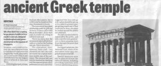Houghton Star nostalgia article about Penshaw Monument