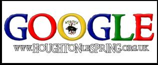 Search the Houghton Heritage Society website using Google