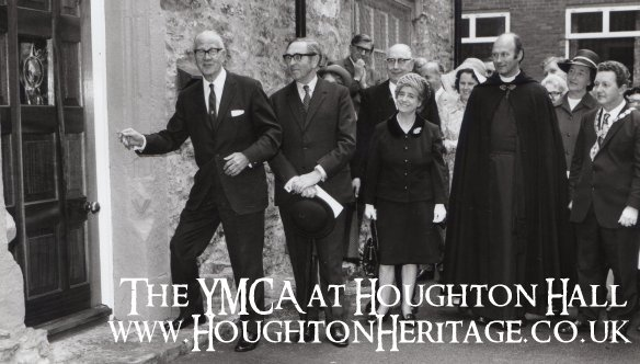 Civic guests opening Houghton Hall YMCA