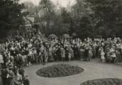 Houghton Rectory Park's official opening in 1949